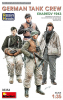 MiniArt 35354 1/35 German Tank Crew (Kharkov 1943) w/Resin Heads